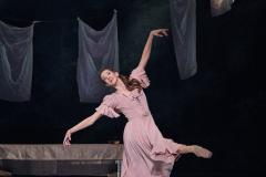 Cinderella in her mother's dress